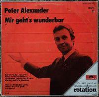 Cover Peter Alexander - Mir geht's wunderbar