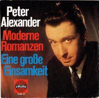 Cover Peter Alexander - Moderne Romanzen