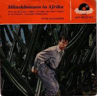 Cover Peter Alexander - Münchhausen in Afrika