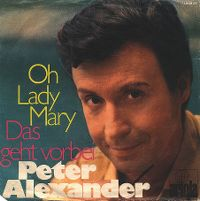 Cover Peter Alexander - Oh Lady Mary
