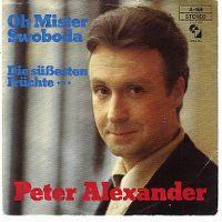 Cover Peter Alexander - Oh Mister Swoboda