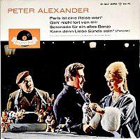 Cover Peter Alexander - Paris ist eine Reise wert