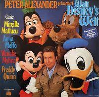 Cover Peter Alexander - Peter Alexander präsentiert Walt Disney's Welt