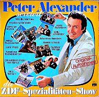 Cover Peter Alexander - Peter Alexander serviert die ZDF-Spezialitäten-Show