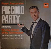 Cover Peter Alexander - Piccolo Party