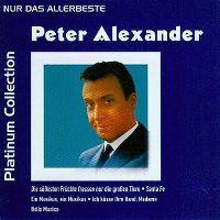 Cover Peter Alexander - Platinum Collection - Nur das Allerbeste
