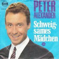Cover Peter Alexander - Schweigsames Mädchen