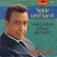 Cover Peter Alexander - Seide und Samt