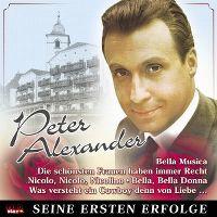 Cover Peter Alexander - Seine ersten Erfolge