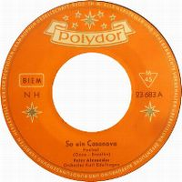 Cover Peter Alexander - So ein Casanova