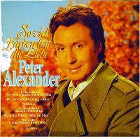 Cover Peter Alexander - So viel Farben hat die Liebe