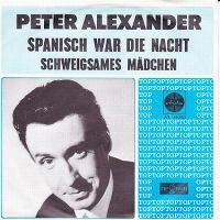 Cover Peter Alexander - Spanisch war die Nacht