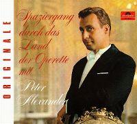 Cover Peter Alexander - Spaziergang durch das Land der Operette mit Peter Alexander