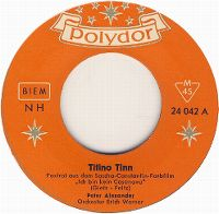 Cover Peter Alexander - Titino Tinn