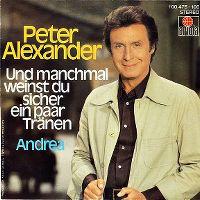 Cover Peter Alexander - Und manchmal weinst du sicher ein paar Tränen
