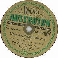 Cover Peter Alexander - Uno momento Maria