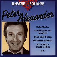 Cover Peter Alexander - Unsere Lieblinge