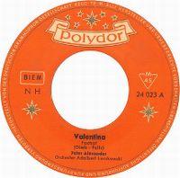 Cover Peter Alexander - Valentina