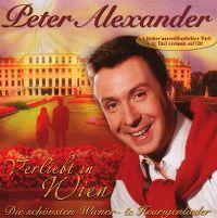Cover Peter Alexander - Verliebt in Wien