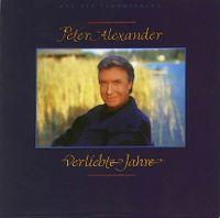 Cover Peter Alexander - Verliebte Jahre
