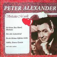 Cover Peter Alexander - Verliebte Musik