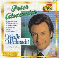 Cover Peter Alexander - Weiße Weihnacht