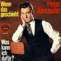 Cover Peter Alexander - Wenn das geschieht