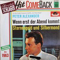 Cover Peter Alexander - Wenn erst der Abend kommt