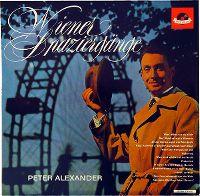 Cover Peter Alexander - Wiener Spaziergänge