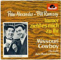 Cover Peter Alexander - Bill Ramsey - Immer zieht es mich zu ihr