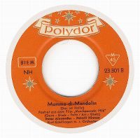 Cover Peter Alexander - Peterli Hinnen - Mamma-di-Mandolin (Das ist Italia)