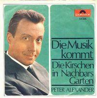 Cover Peter Alexander / Kölner Rundfunk-Orchester - Die Musik kommt