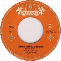 Cover Peter Alexander / Orchester Adalbert Luczkowski - Tschau, tschau Bambina