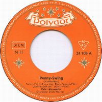 Cover Peter Alexander / Orchester Erich Werner - Penny-Swing