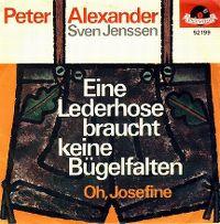 Cover Peter Alexander / Sven Jenssen - Eine Lederhose braucht keine Bügelfalten