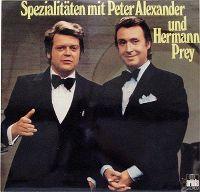 Cover Peter Alexander & Hermann Prey - Spezialitäten mit Peter Alexander und Hermann Prey
