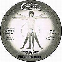 Cover Peter Gabriel - Modern Love