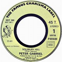 Cover Peter Gabriel - Solsbury Hill