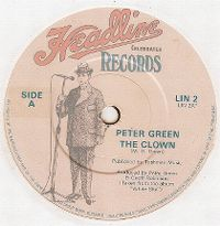 Cover Peter Green - The Clown