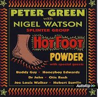 Cover Peter Green with Nigel Watson - Hot Foot Powder
