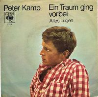 Cover Peter Kamp - Ein Traum ging vorbei