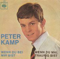 Cover Peter Kamp - Wenn du bei mir bist