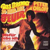 Cover Peter Orloff - Das brennt so heiß wie Feuer