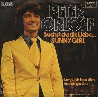 Cover Peter Orloff - Suchst du die Liebe... Sunny Girl