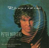 Cover Peter Weekers with Michael Batt And The London Philharmonic Orchestra - Rhapsodies