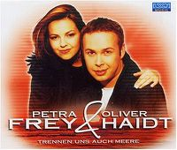 Cover Petra Frey & Oliver Haidt - Trennen uns auch Meere