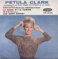 Cover Petula Clark - Calcutta