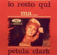 Cover Petula Clark - Io resto qui
