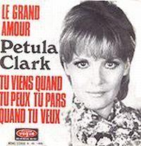 Cover Petula Clark - Le grand amour