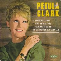 Cover Petula Clark - Le train des neiges